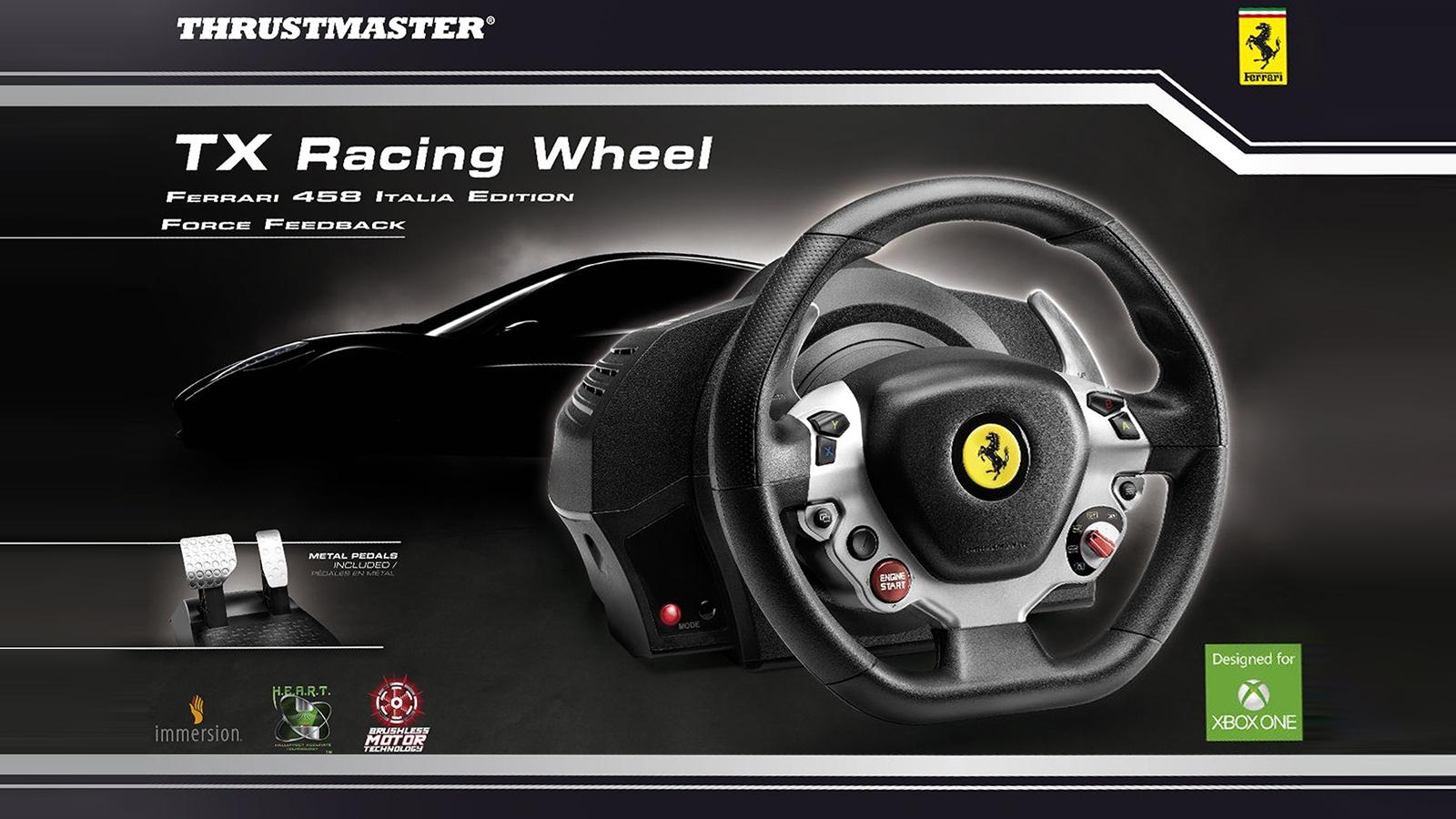 xbw thrustmaster tx racing wheel. Black Bedroom Furniture Sets. Home Design Ideas